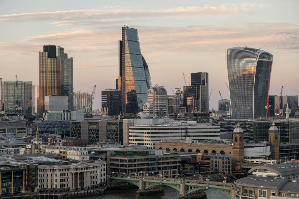 Die City of London. (Foto: Flickr/vgallova/CC BY 2.0)